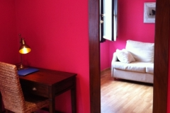 Detalle espejo Hotel Rural El Texeu