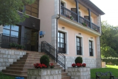 Fachada principal Hotel Rural El Texeu