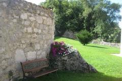 Jardín del Hotel Rural El Texeu