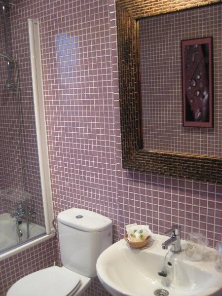 Cuarto de baño del Hotel Rural El Texeu