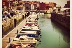 Puerto deportivo en Llanes